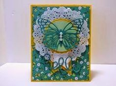 Peanuts and Peppers Papercrafting: Make It Monday - New Stampin' Up! Butterfly Thinlits Hello Card
