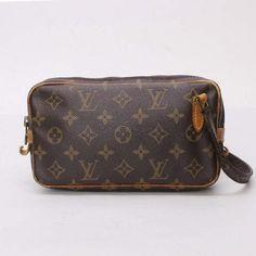 Louis Vuitton Pochette Marly Bandouliere Monogram Shoulder bags Brown Canvas…