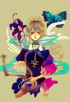 Eisen blume artbook cover by meisan.deviantart.com on @deviantART