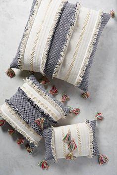Tasseled Retrograde Pillow