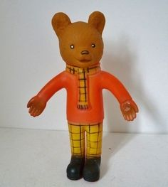 Vintage 60s Rupert the Bear from www.yourvintagelife.co.uk