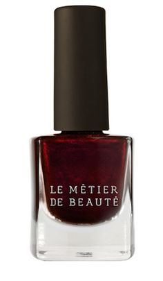 Vampy nails are an obvious Winter Win. We can't get enough of Le Metier de Beaute Nail Lacquer in Hot n' Saucy