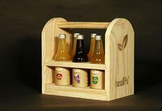 Natural Drink Bottle Carrier