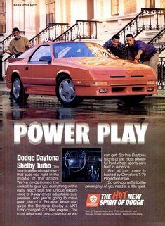Dodge Daytona, Muscle Cars Dodge, Volkswagen, Dodge Pickup Trucks, Dodge Viper, Car Advertising, Ford, Old Cars, Mopar