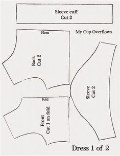 Image result for Free Printable 18 Inch Doll Clothes Patterns