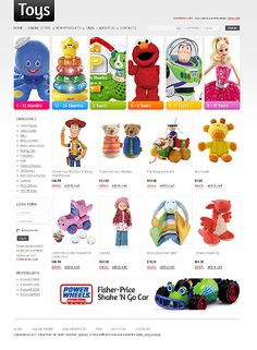 Toys Store VirtueMart Templates by Di Toy Store, Entertainment, Templates, Comics, Toys, Shop, Role Models, Toy, Template