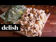 Peppermint Bark Popcorn Recipe - Delish.com