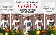 Tricou Gratis - Promotie de Craciun