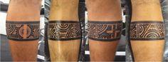 Tatuagem / Maori / Tribal / Polinésia / Faixa / Perna / Tattoo / Polynesian / Band / Leg #studio900 #crismaia