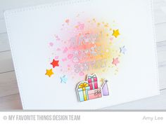 Beary Special Birthday Stamp Set and Die-namics, Blueprints 25 Die-namics - Amy Lee  #mftstamps