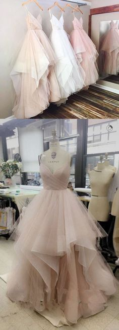 Tulle Prom Dresses, Formal Dresses, Graduation Party Dresses, Banquet Gown on Luulla