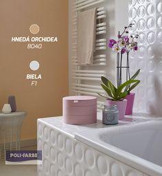 Pastelové farby zjemnia ducha našich domovov. 😊💛 Súhlasíte? #farby #polifarbesk #stena #steny #kúpeľňa #farba #farebnéinspiracie #domov #izba #malovanie #malovaniestien #maliar #farba #farebnéinspiracie #dom #byt #domov #byvanie #krasnebyvanie #orchidea #biela #hneda #home #decor #bathroom #colour #painting #wallpainting Home Decor, Painting, Rain Shower Heads, Homemade Home Decor, Painting Art, Paintings, Paint, Draw, Decoration Home