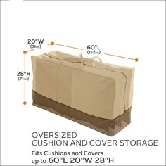 Classic Accessories Veranda Patio Cushion andamp; Cover Storage Bag *** (paid link) Details can be found by clicking on the image.