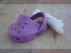 How to make baby Crocs