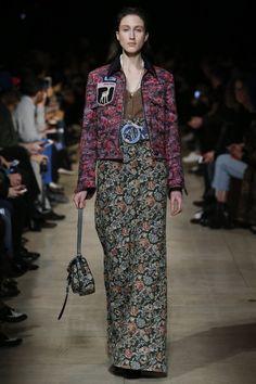 Miu Miu Fall 2016 Ready-to-Wear Fashion Show - Anna Cleveland (Next)