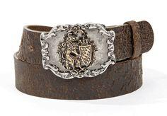 Trachten Ledergürtel Bayern LG71 antikbraun, Vintage Men Stuff, Belts, Fairy Tales, Cuff Bracelets, Accessories, Outfits, Ebay, Vintage, Jewelry