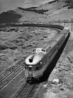 California Zephyr at Tabernash, Colorado, 1969