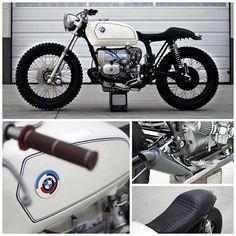 Metallic KO BMW Cafe Racer
