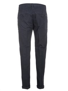 DONDUP GAUBERT TROUSERS NAVY. #dondup #cloth #