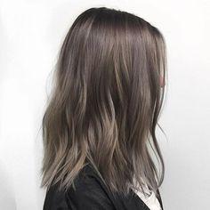Ash Brown Hair Color Ideas