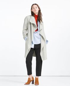 ZARA - COLLECTION SS16 - HAND MADE COAT