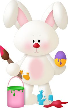 100 BLESSING Good Girl Bug Hair Bow Clip Character Easter Chick Rabbit Egg Owl