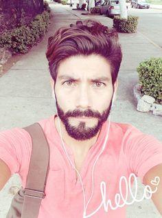"""lasbarbas: """" Hispanic / Latino men with beard: Kuno Vega (Mexico) """""""