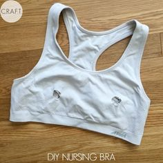 DIY Nursing Bra