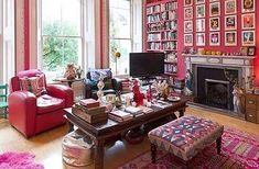India Knight's pink palace: at home with the author