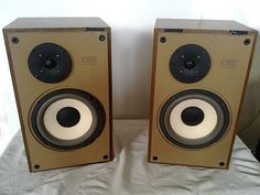 Vintage speakers ESB type CDX L3 (Made in Italy)