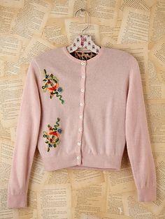 cashmere vintage cardigan
