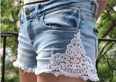 Revitalize seu Short Jeans