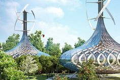 "Vincent Callebaut Unveils Plans for Futuristic ""Flavors Orchard"" Farm City in China   Inhabitat - Sustainable Design Innovation, Eco Archite..."