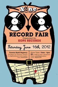 2012 Kops Records/NXNE Annual Record Fair