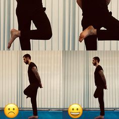 Este ásana (Ardha Vrikshásana) é um clássico exercício de equilíbrio. Contudo, tem alguns detalhes técnicas que, quando desrespeitados,… Yoga, Sports, Balance Exercises, Tips, Hs Sports, Sport