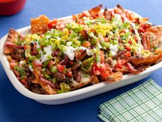 Guy-talian Nachos from Guy Fieri