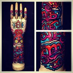 eternal hands/100%/by kartess Behance, Instagram, Hands, Art