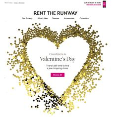 Valentines email with a simple gif #emailmarketing #gif #email