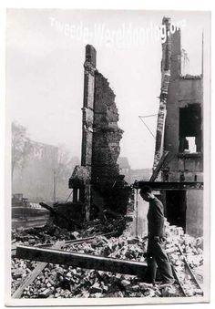 Nederland in de Tweede Wereldoorlog - Bombardement op Rotterdam Leuvehaven