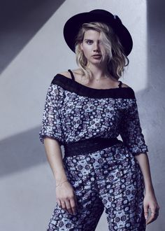 ae424af0ee1e5 First Look  The Cut for Evans Spring Summer Collection by Gabriella Seal. Plus  Size ...