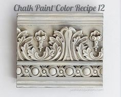 Learn Chalk Paint color recipes in this furniture painting post from Paint and Pattern Make Chalk Paint, Chalk Paint Colors, Chalk Paint Projects, Chalk Paint Furniture, Milk Paint, Furniture Wax, Distressed Furniture, Chalk Paint Techniques, Paint Effects