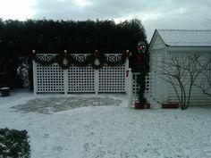 Pergola Against House Key: 8011709833 Covered Pergola, Retractable Canopy, White Paneling, Pergola Kits, Gazebo, Sidewalk, Indoor, Patio, Outdoor Decor