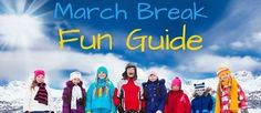 March Break Fun Guide for Durham Region and the GTA Durham Region, Gta, Ontario, Activities For Kids, March, Children Activities, Kid Activities, Petite Section, Mac
