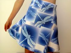dragonfly skirt dragonflies on skirt dragonfly by TheCateEscape