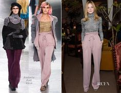 Elle Fanning In Rodarte - Rodarte x Superga Dinner