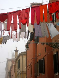 Do you dream of escaping to live in Venice? Felicity did and you can read more by clicking the photo. Laundry Lines, Line Photography, Doing Laundry, Laundry Room, Hanging Out, Hanging Clothes, Belle Photo, Pretty, Clothes Lines