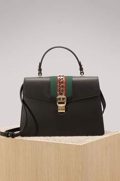59a0b36d29e Buy Gucci Sylvie Leather Top-Handle Bag online on 24 Sèvres. Shop the  latest trends - Express delivery   free returns