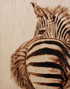 The Incredible Pyrographic Art of Julie Bender.