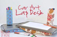 Car Art Lap Desk • this heart of mine