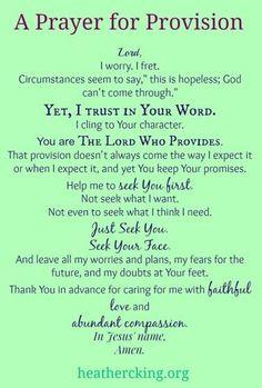 prayer-for-provision by debra